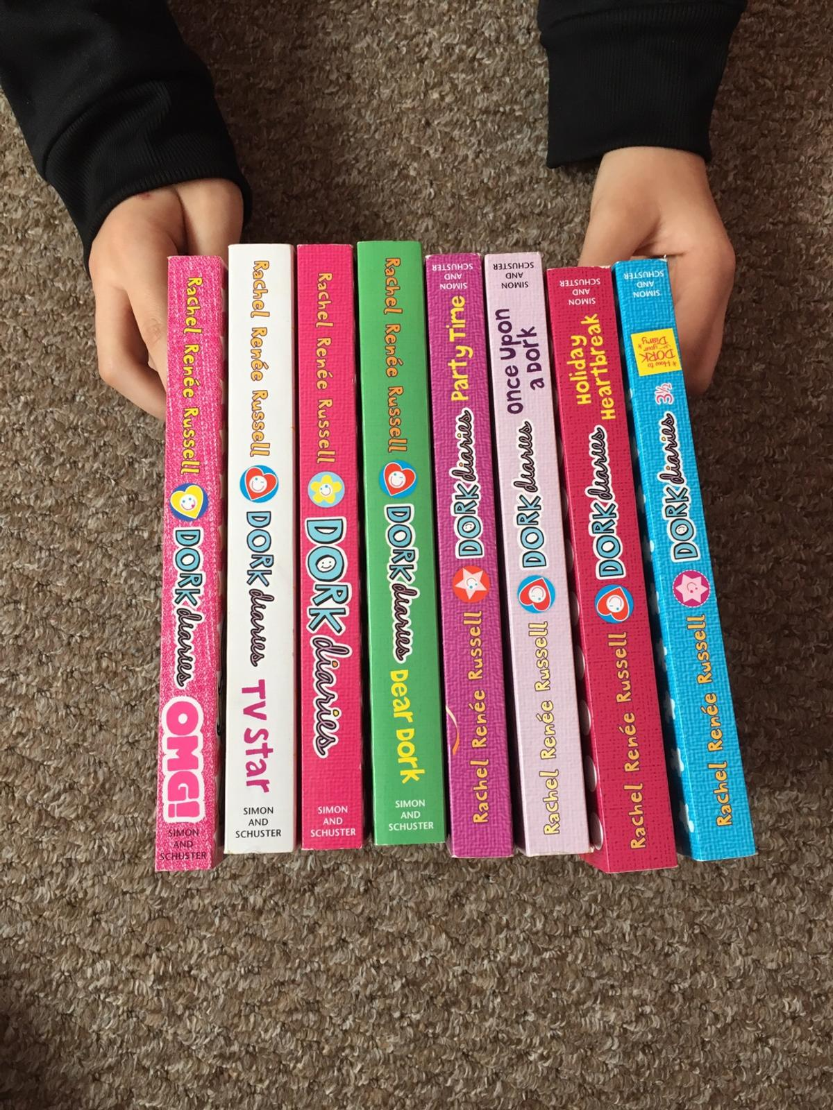 Eight Dork Diary book Like new Collection only
