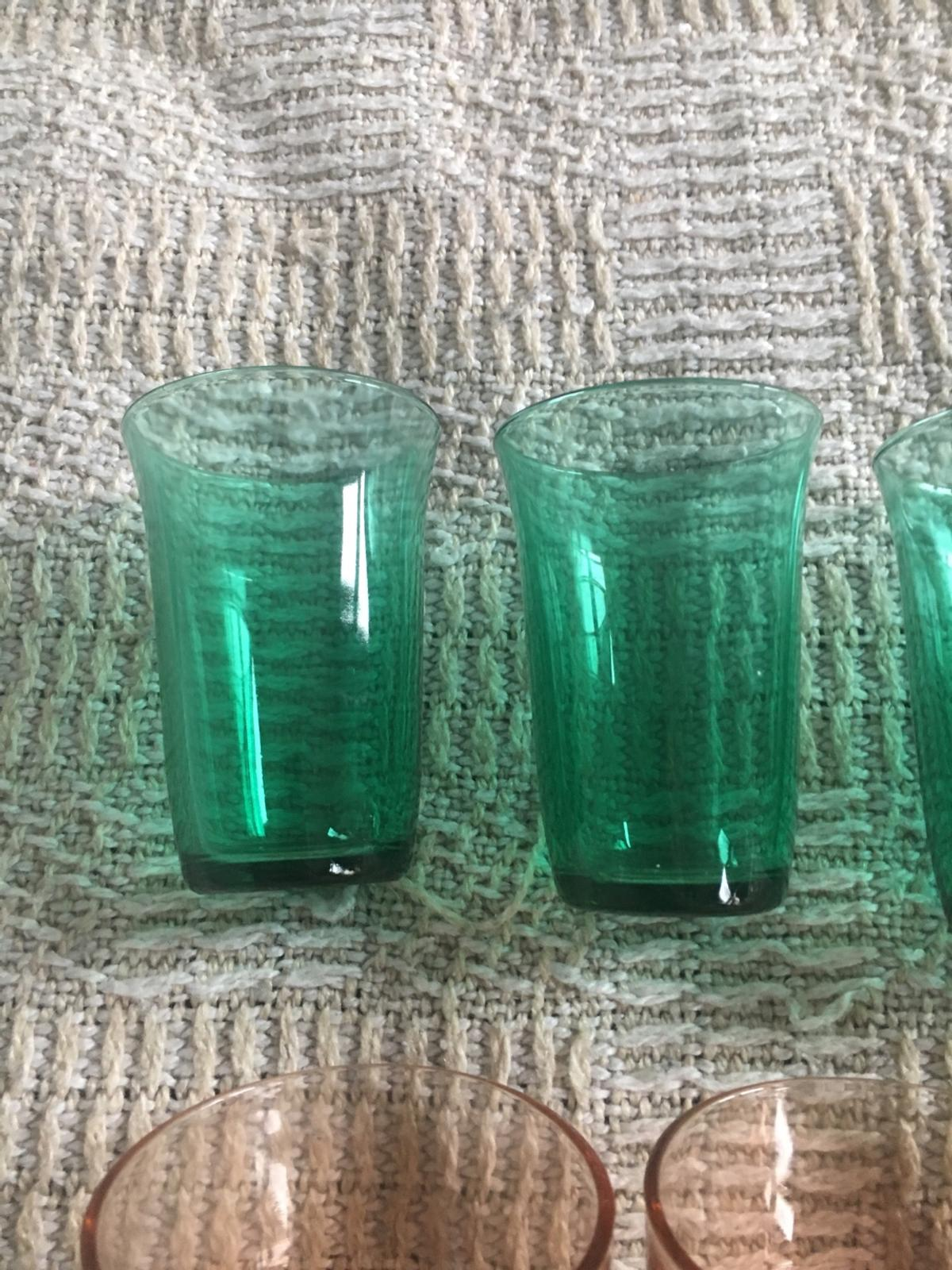 Assortment of small drinking glasses. Clearing out so not required. 22 glasses.