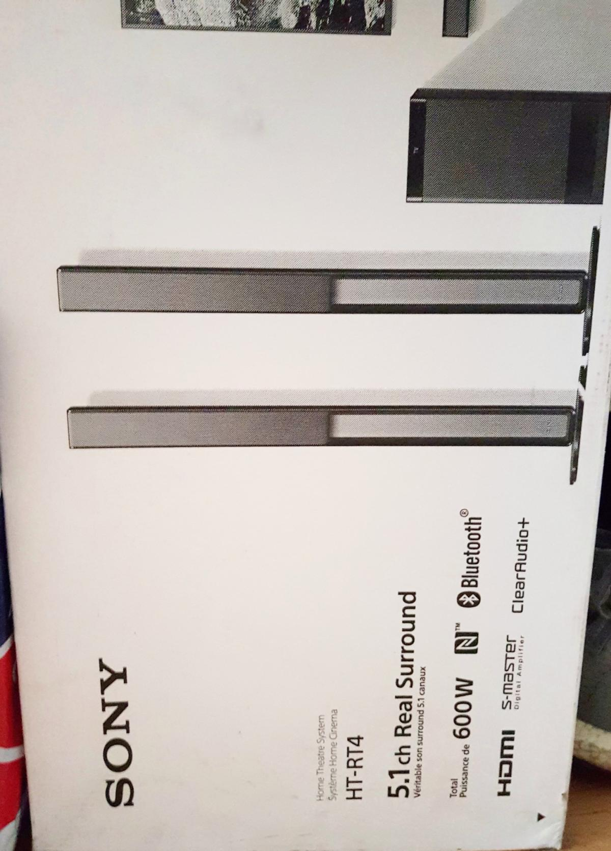 Brand New Sony surround system HT-RT4.