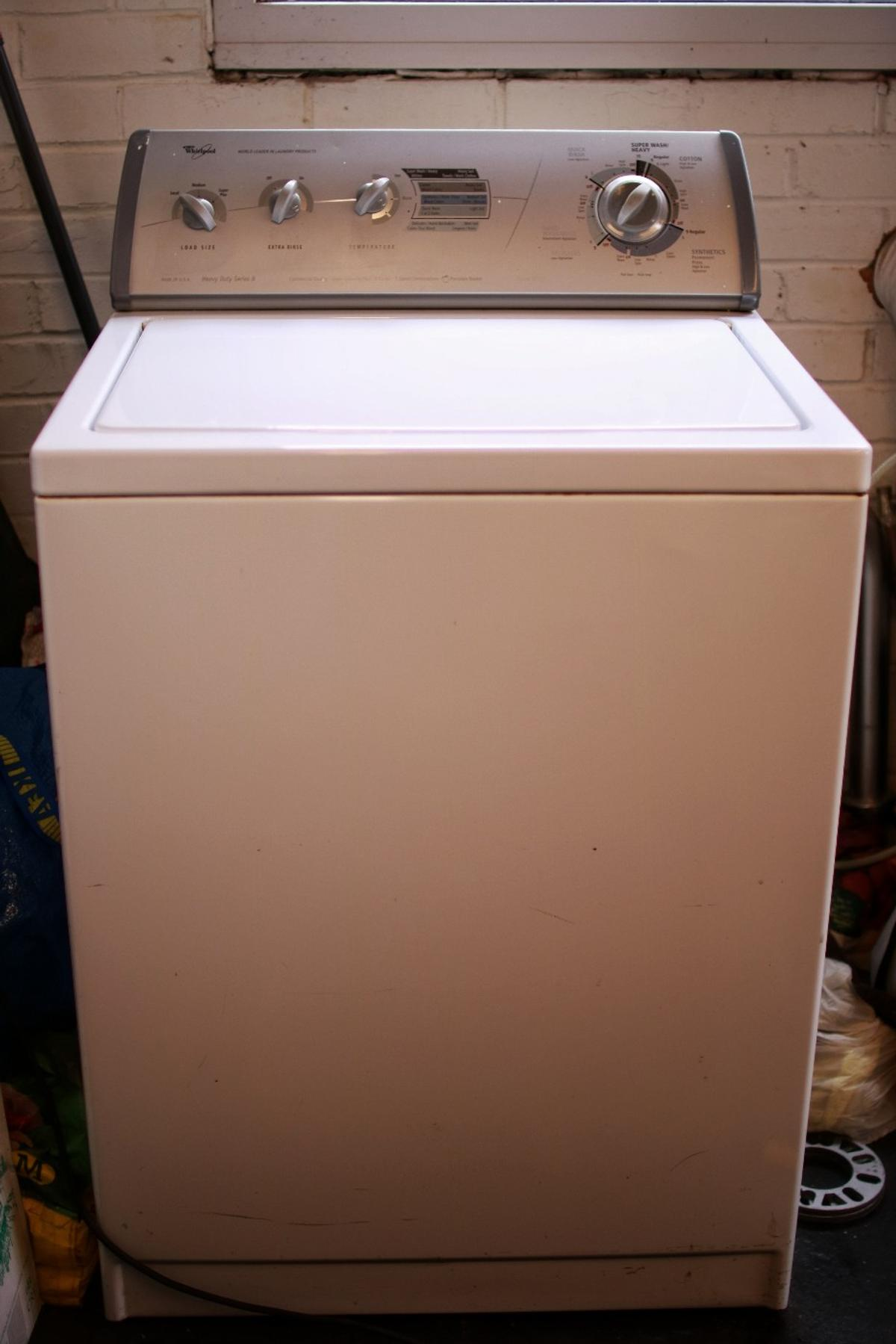 Whirlpool Sm8281115 A Washing Machine In Amber Valley Fur 100 00