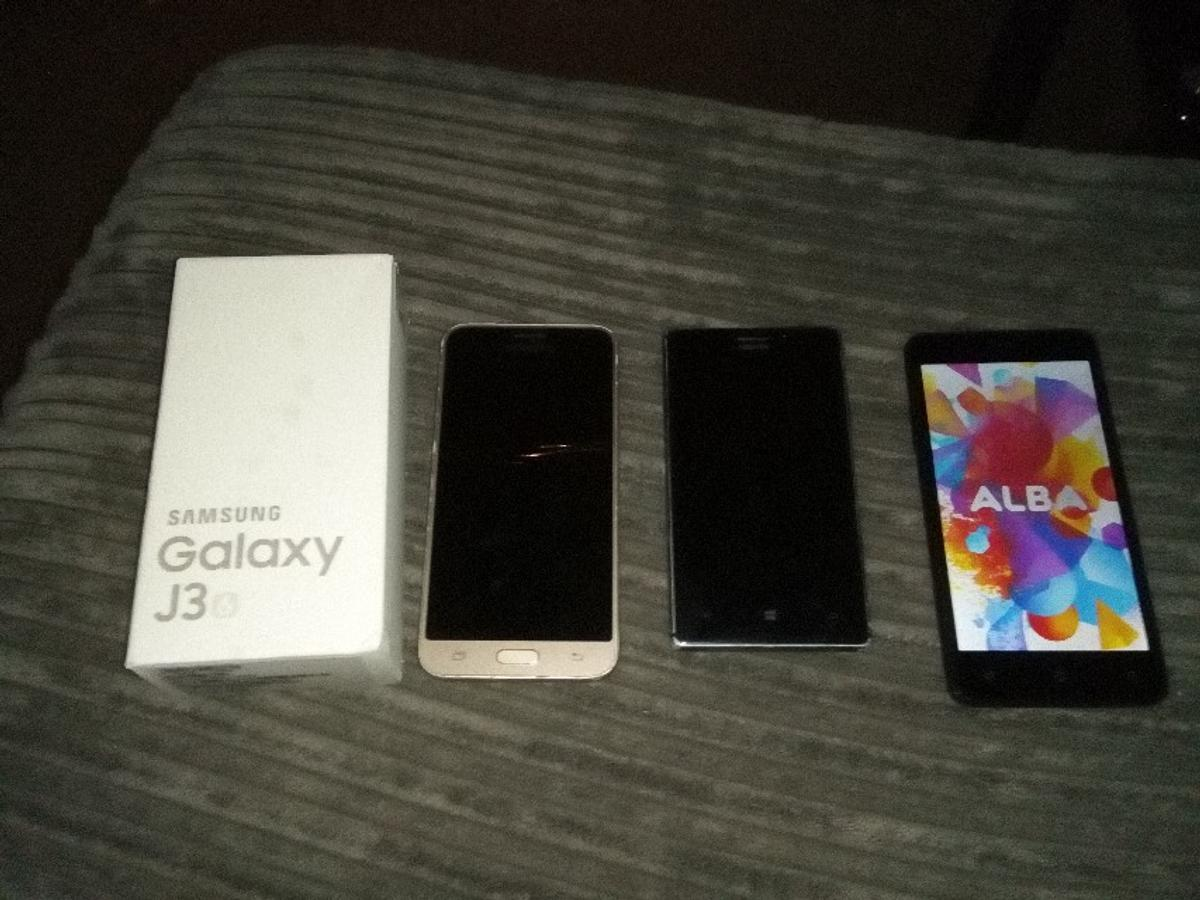 3 mobile phones  samsung  nokia and alba in CM1 Chelmsford