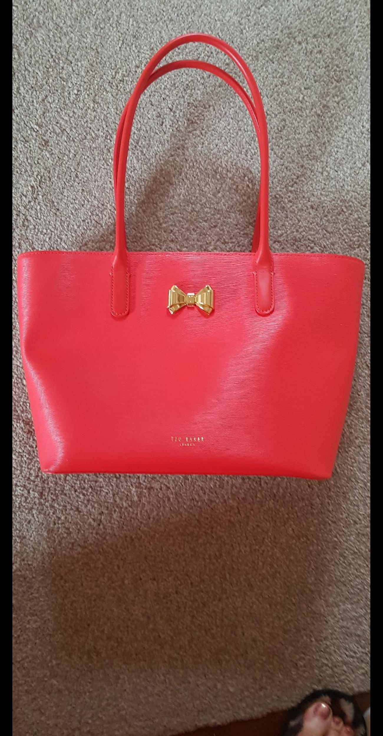 e8b86e0d1ce Red Ted Baker tote bag in PO15 Fareham for £20.00 for sale - Shpock