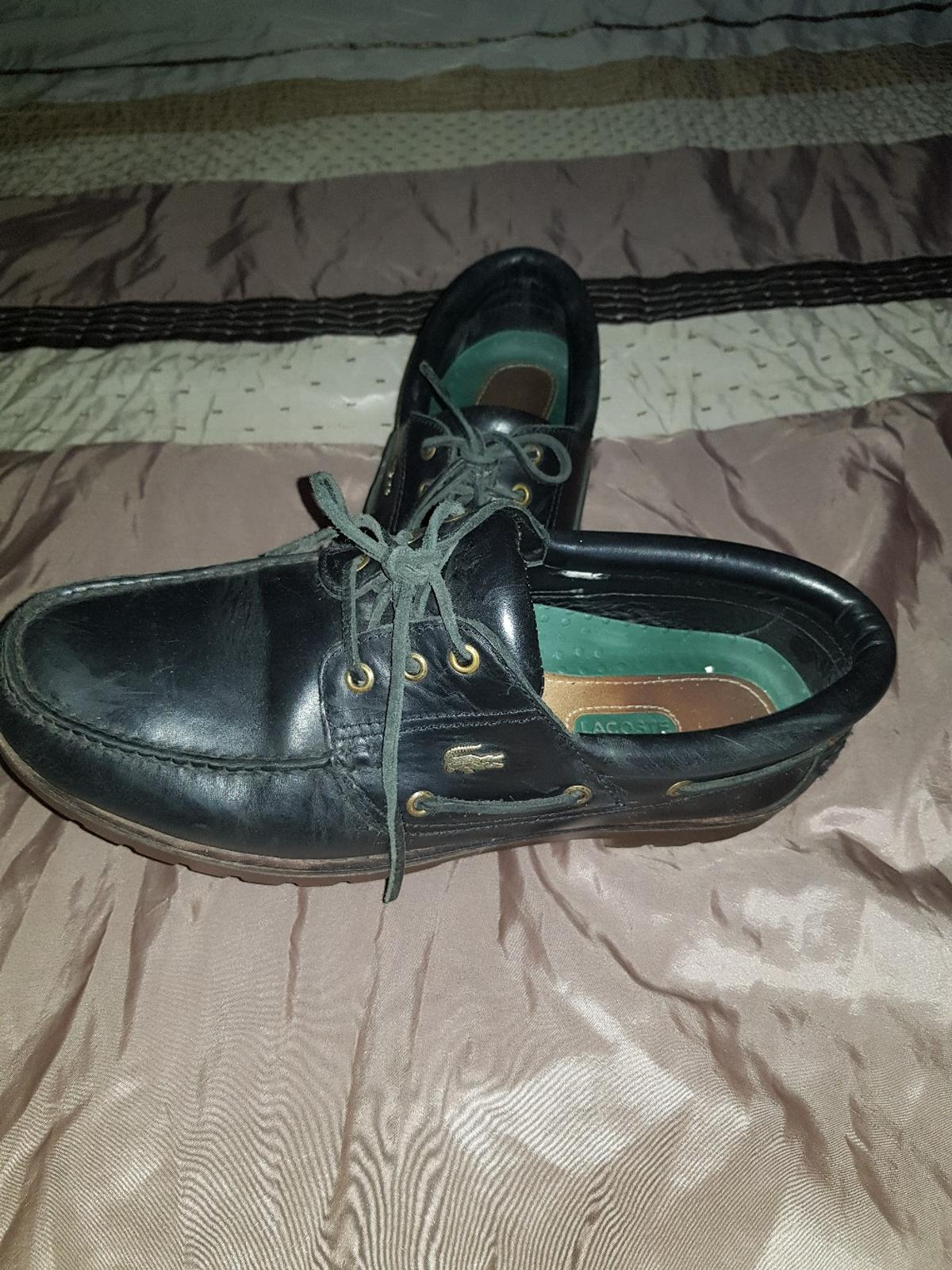 mens lacoste shoes size 12 only worn couple times loads of wear great condition.can sell both together or single any questions just ask.