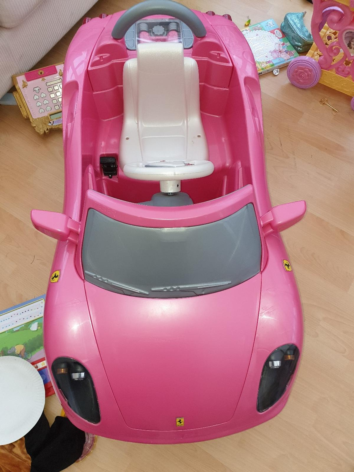 selling this Ferrari car. Still in great condition:) open to reasonable offers.