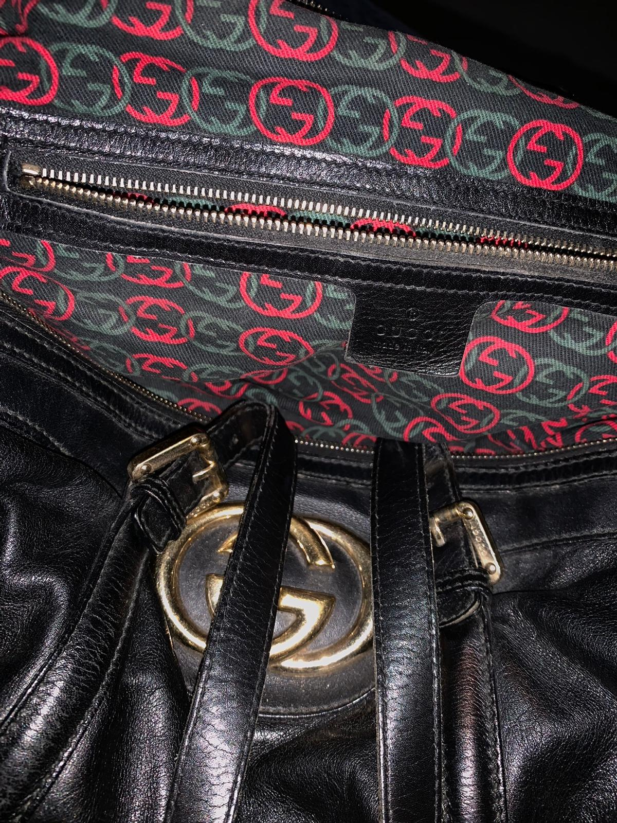 100% genuine Gucci bag, was lucky to receive this as a gift from a family friend 5 years ago, I've never used as not my style, she's looking for a home, needs a good professional clean I do not have a dust bag for it or papers/card but you are welcome to get a second opinion ✨👜 would like £350 but open to offers