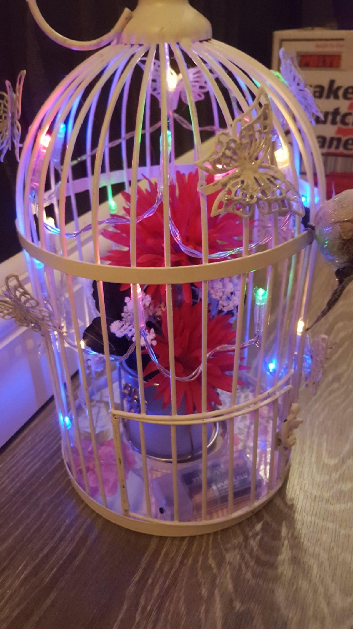 shabby chic cage