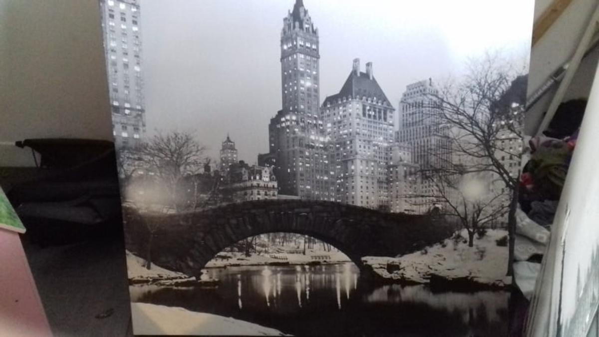 2xbig new york canvases good condition