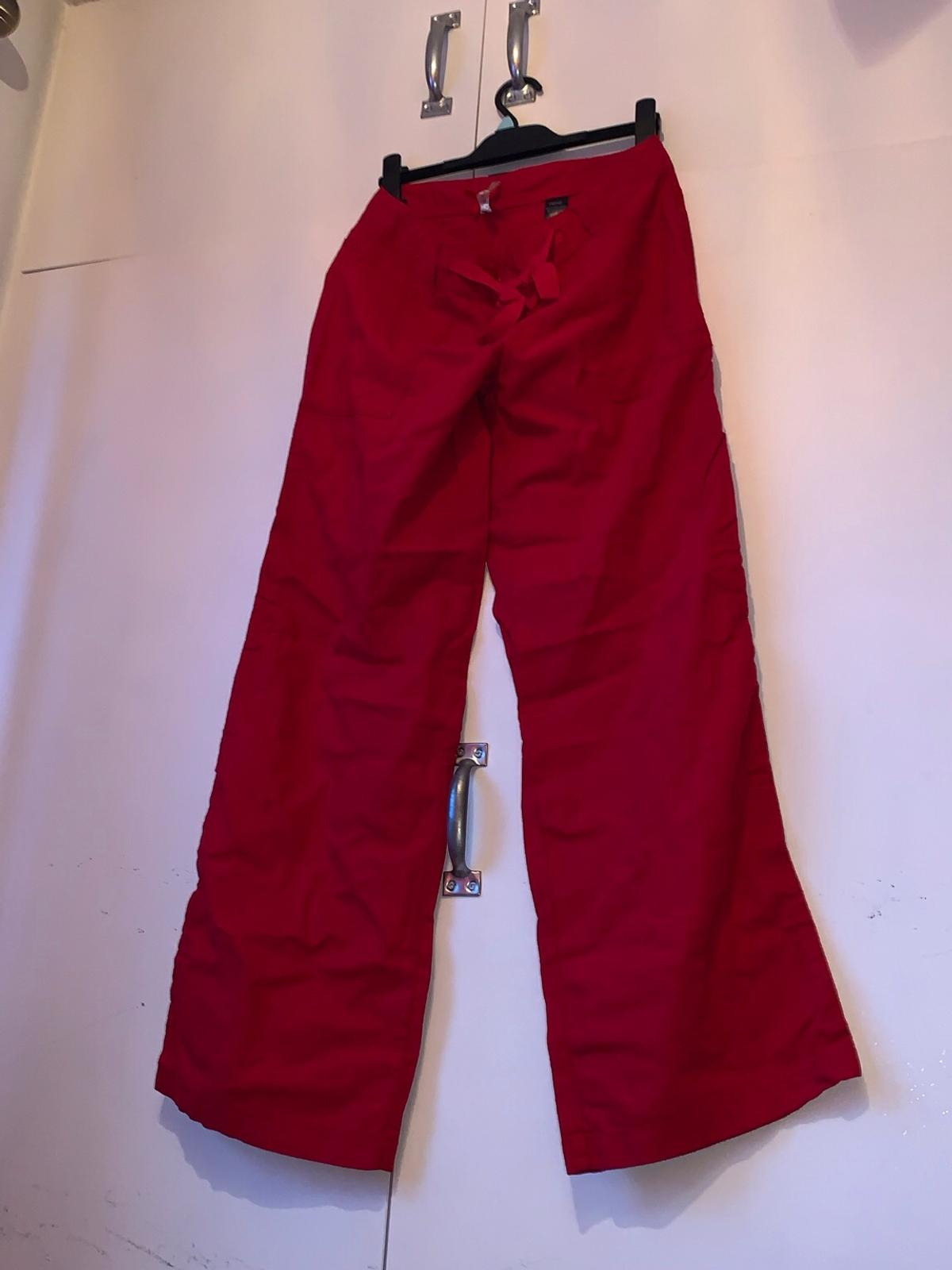 Brand new with tags, red linen trousers from Next size 10R.