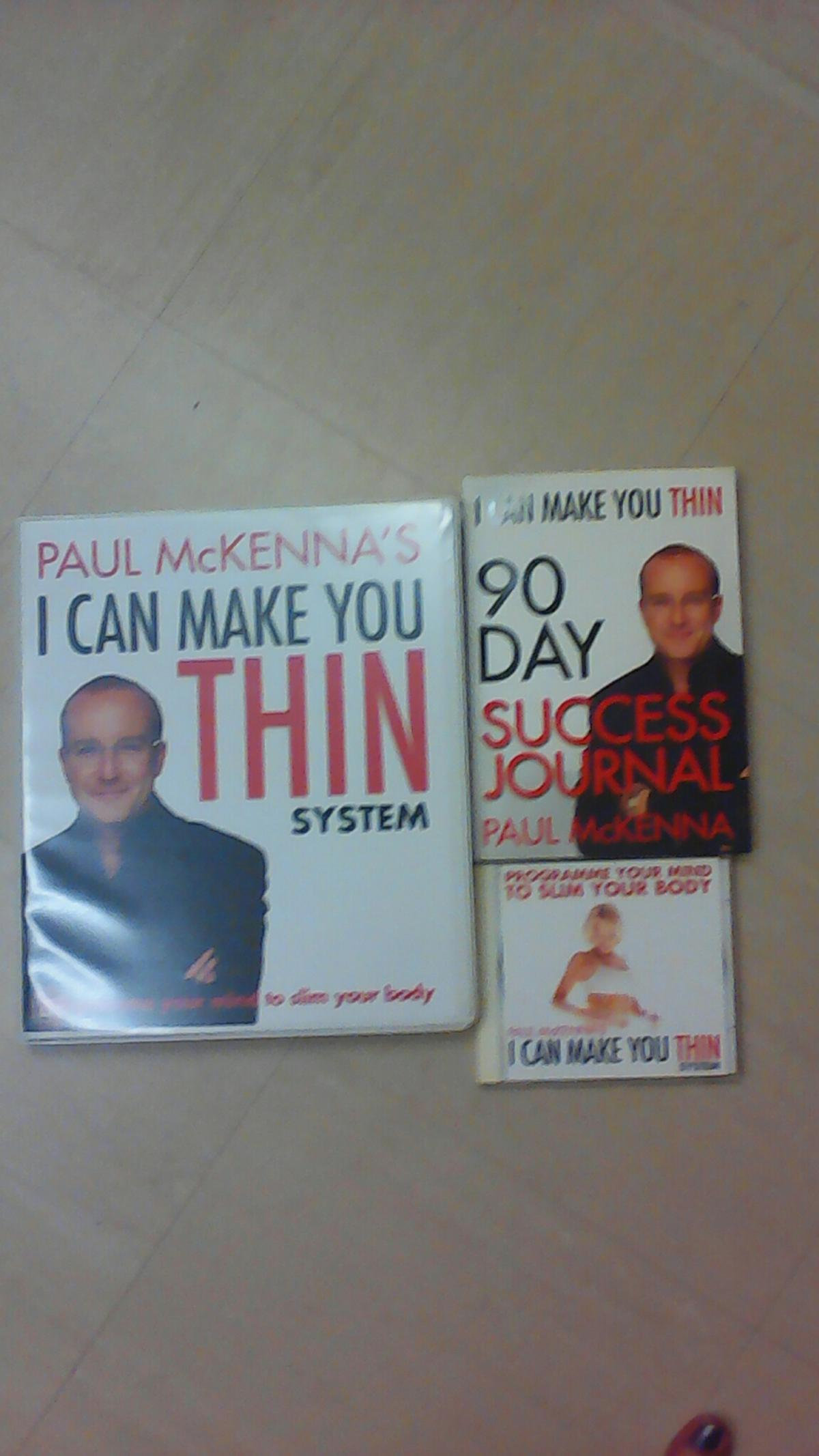 Paul McKenna I can. make you think 4cd set plus journal and other cd