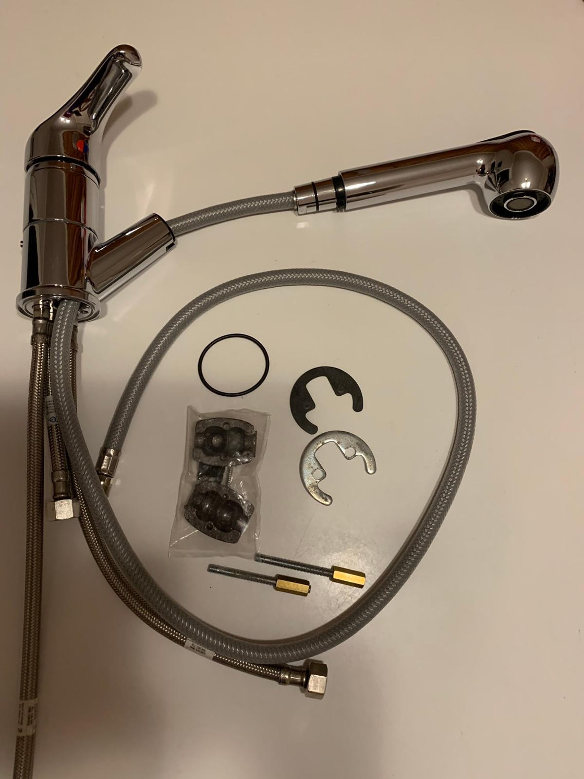 New with instructions. Single lever temperature and flow control. Similar to Victorian Plumbing product KA307