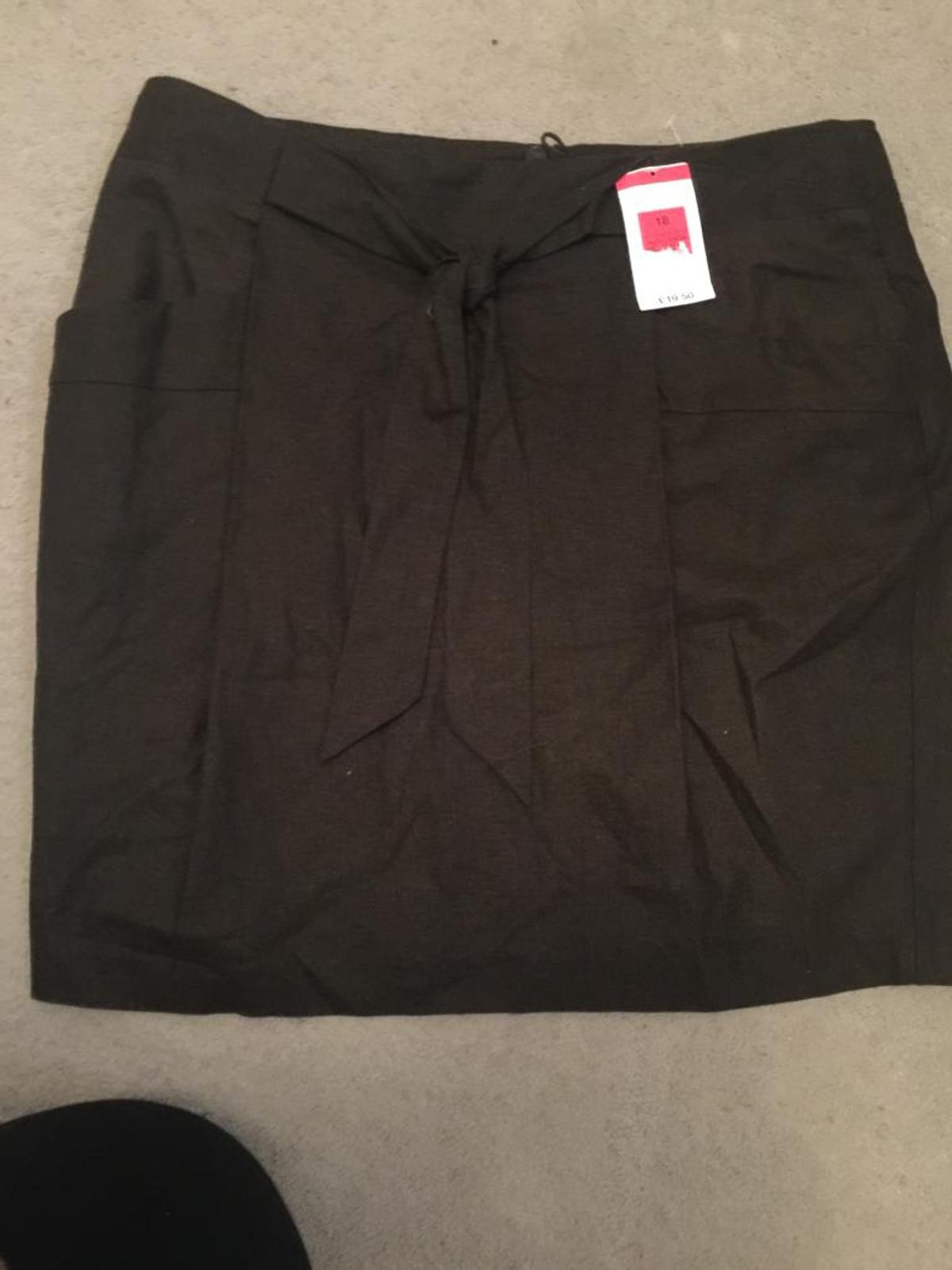 new with tags m&s ladies linen skirt