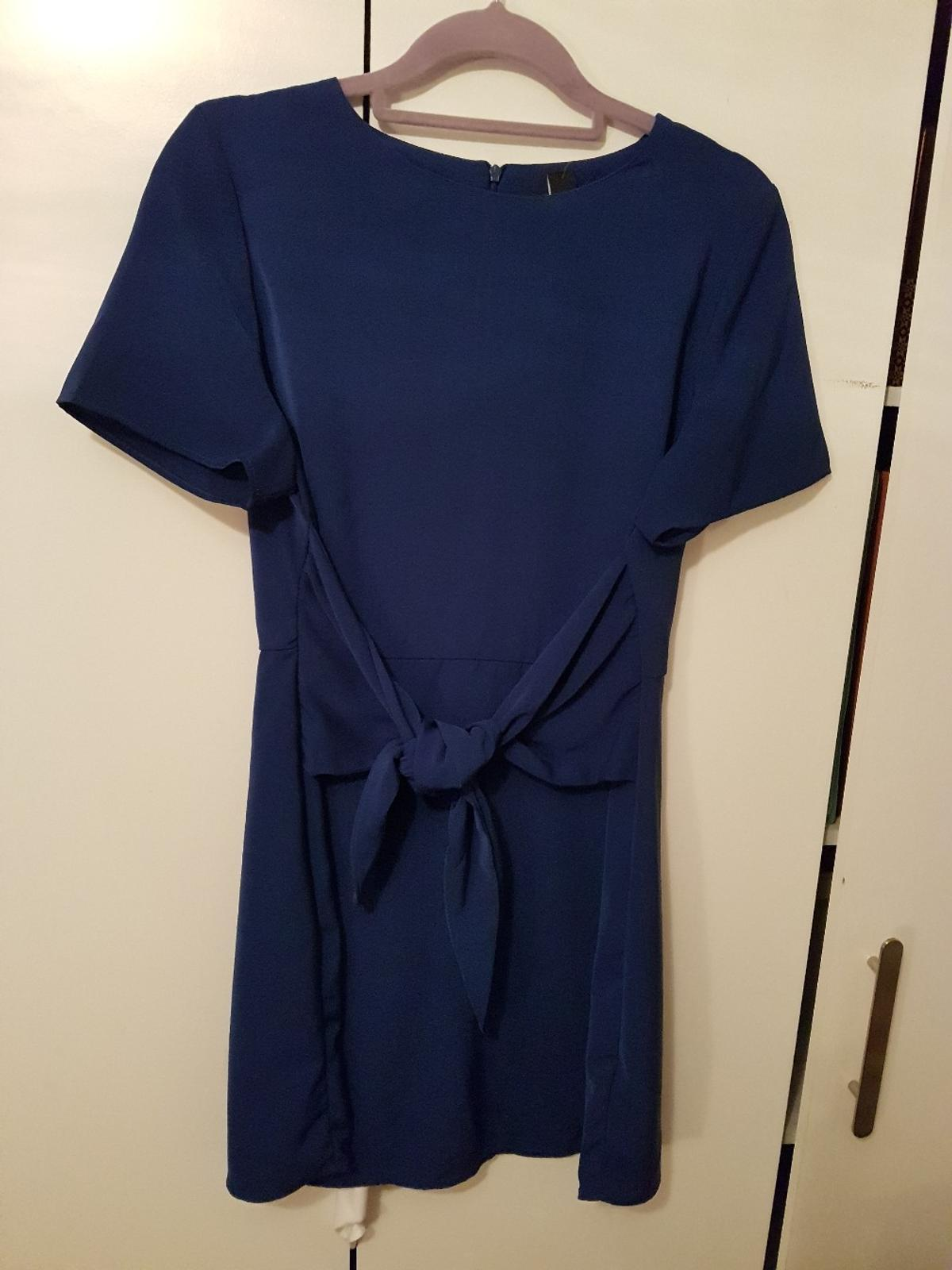 Electric blue new look dress. Petite size 14. Brand new- tags on. Can deliver.