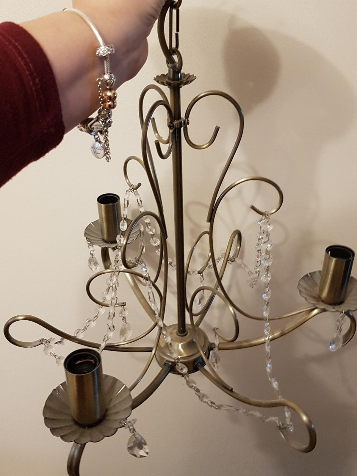 a pair of light fitting. Collection from great linford