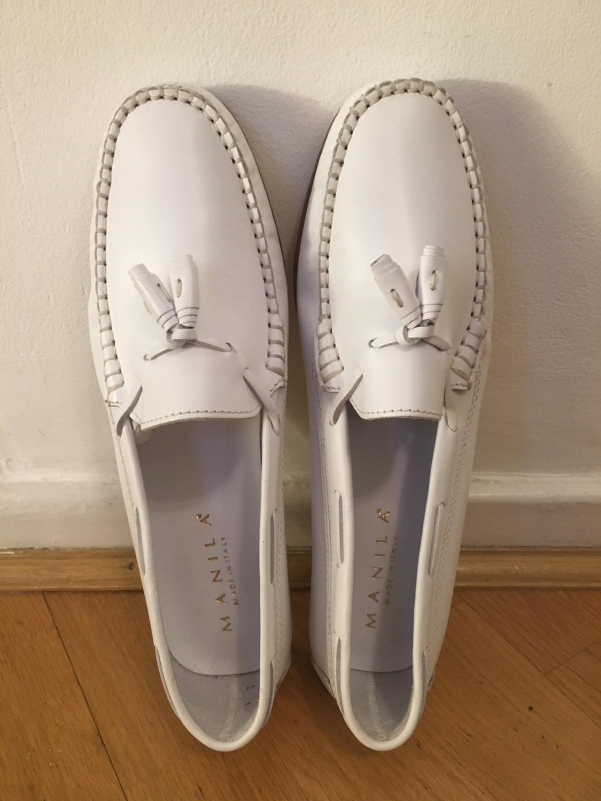 Clerkenwell, Holborn area, London  1. Manila White size 40 4. Manila Oatmeal size 40  Made in Italy Wore once, almost brand new as you see.  £80 each