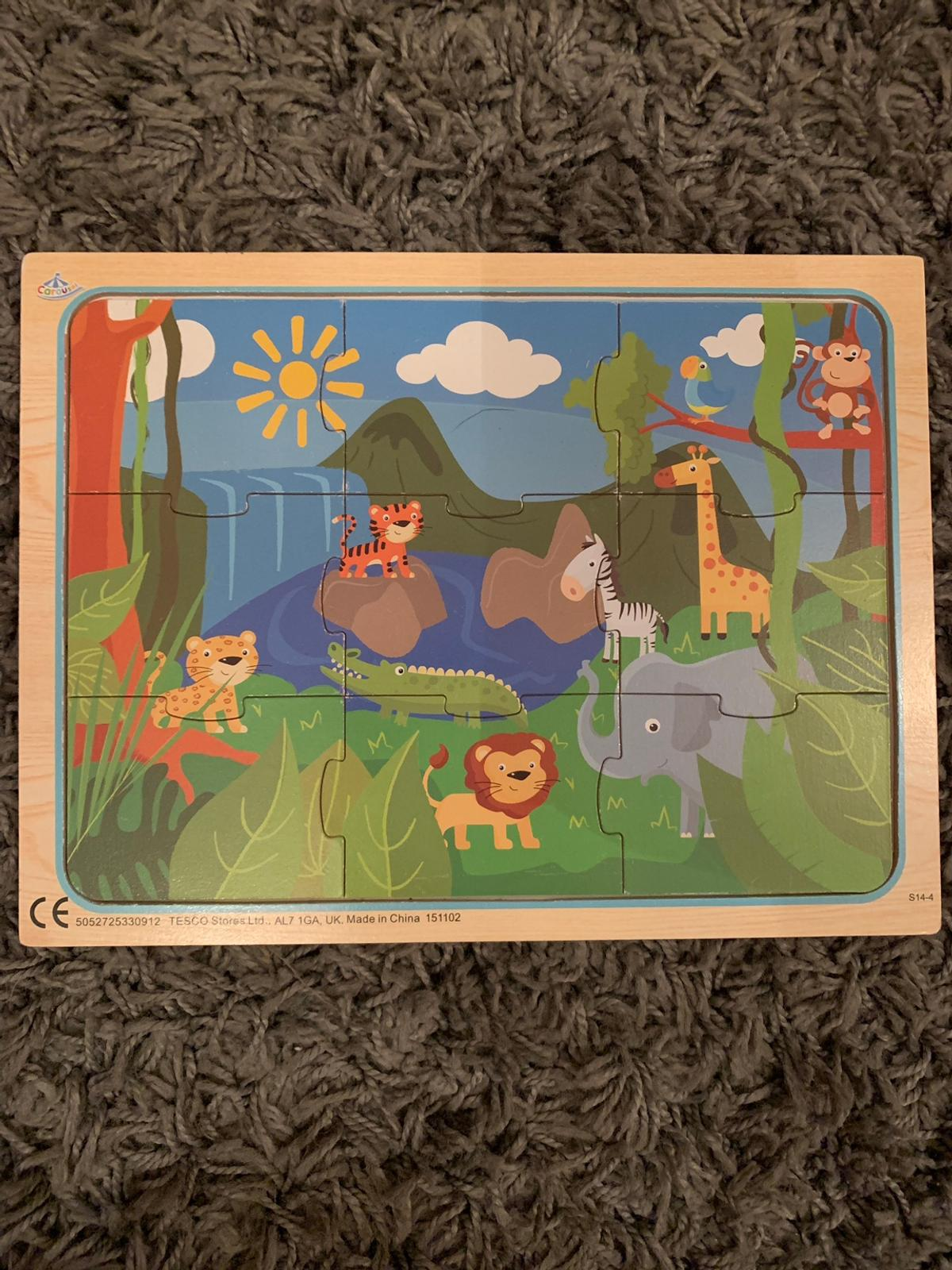Perfect condition. All pieces are there. 9 piece puzzle and board.