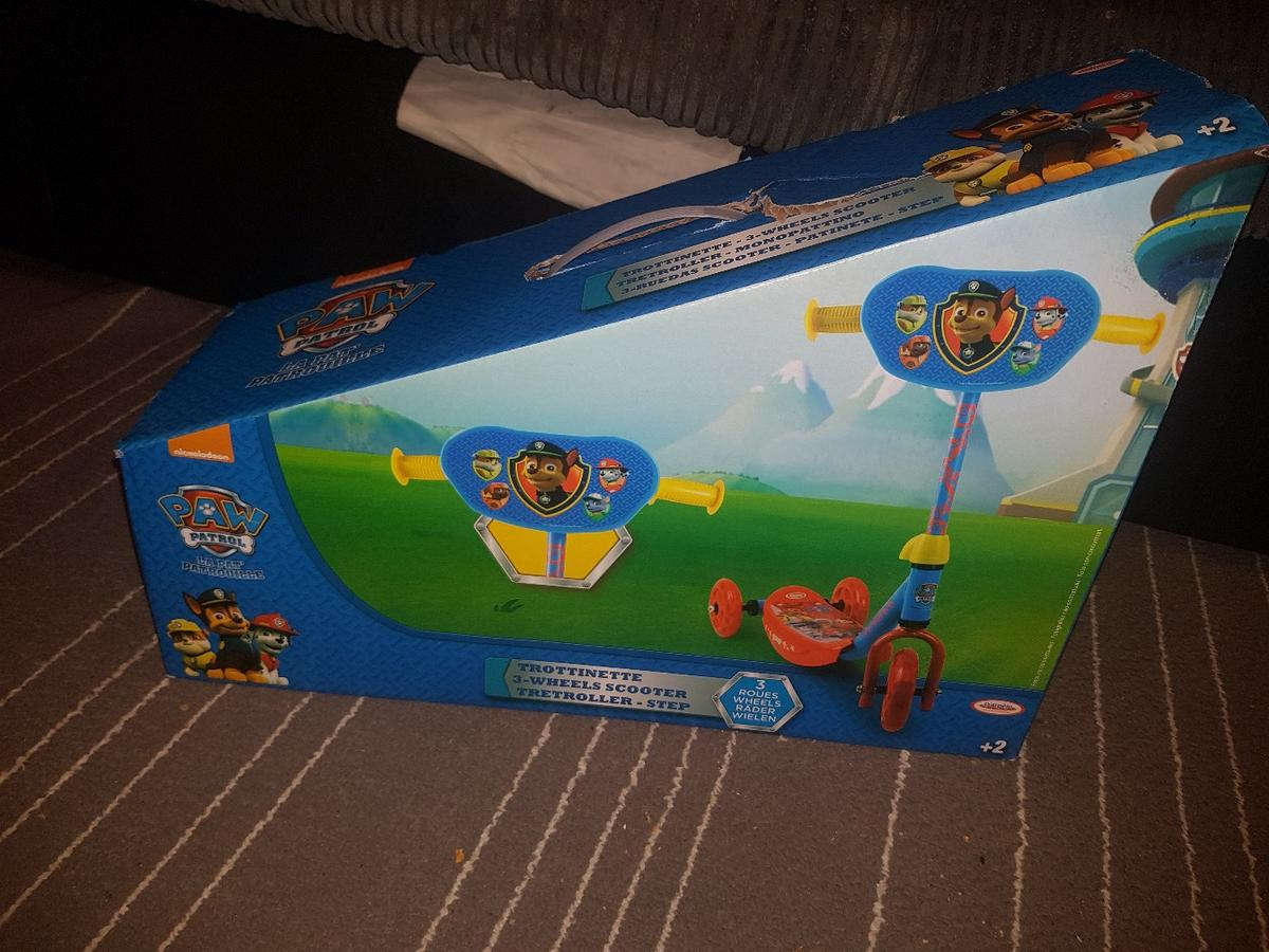 Both brand new Paw patrol scooter £15 SOLD Vtech activity tree £15 From pet and smoke free home Collection ash vale