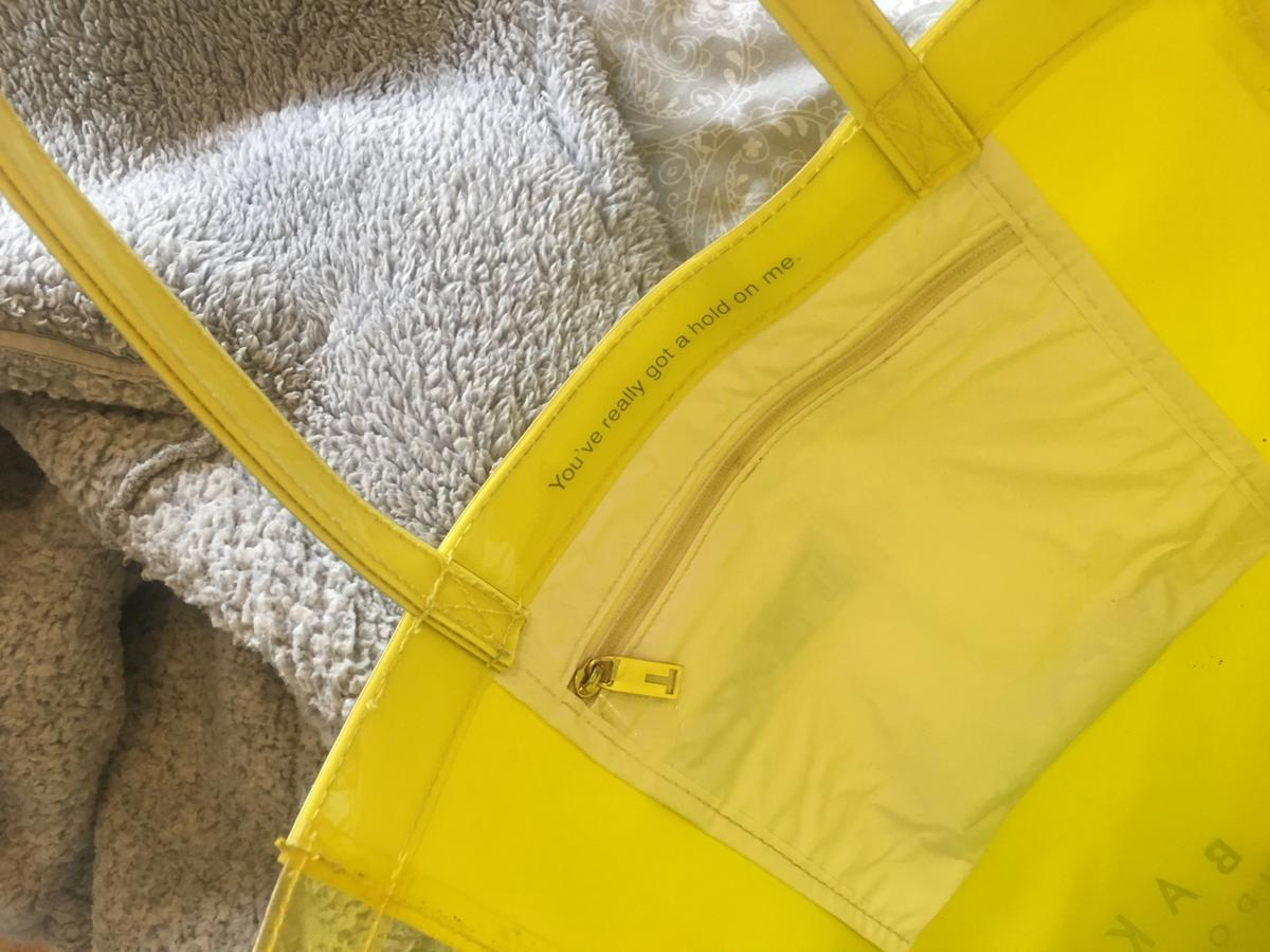 Ted baker bag in colour - yellow  Hardly any marks - don't use so selling