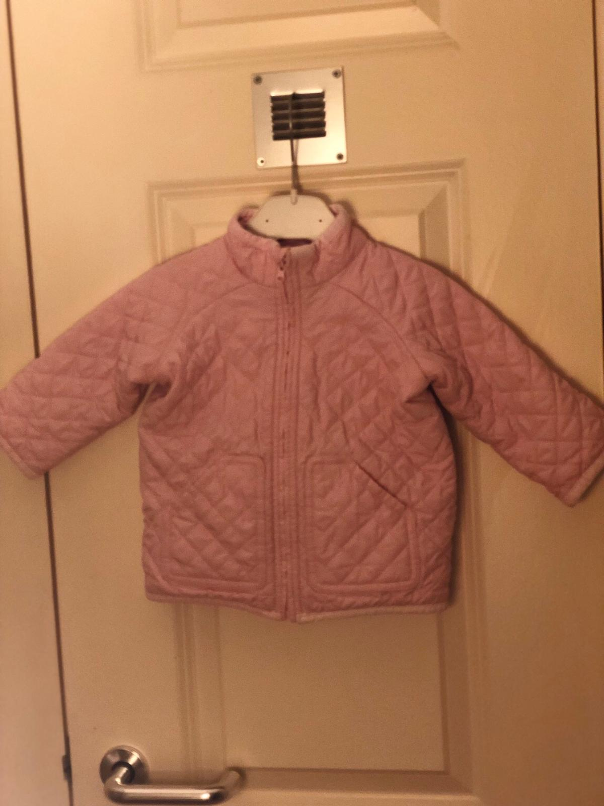 9 months casual quilted jacket used condition