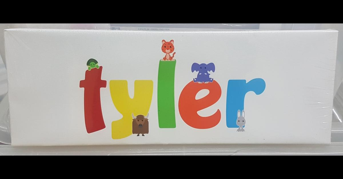 A3 childrens canvas last one! see my profile for other names available
