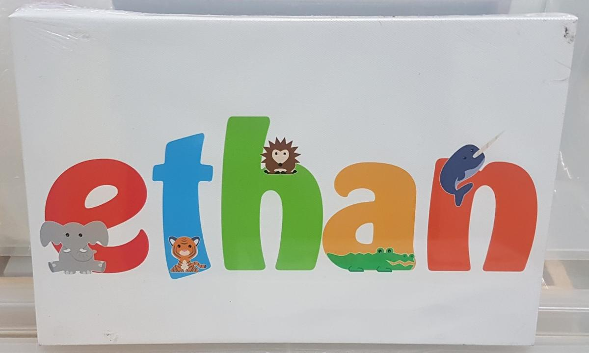 A4 childrens canvas last one! see my profile for other names available