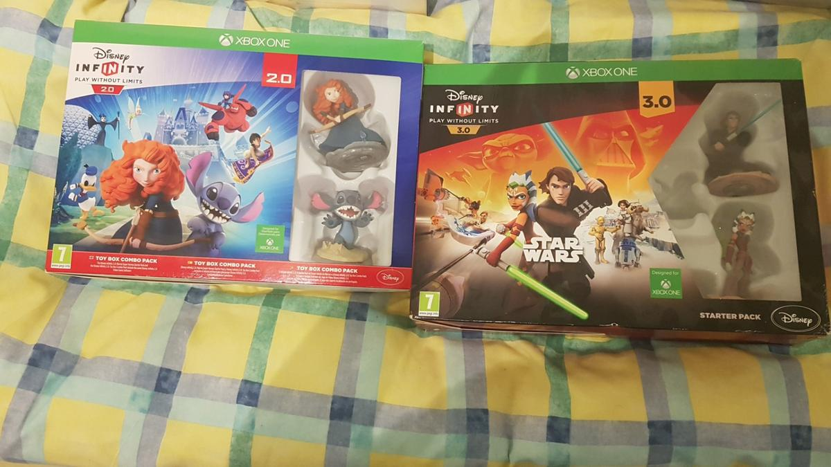 both boxes have everything included portals also xbox one