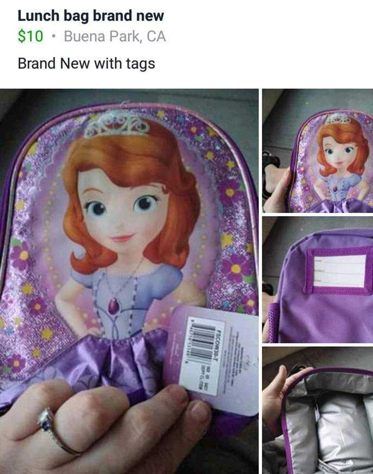 Sofia the first brand new with tags