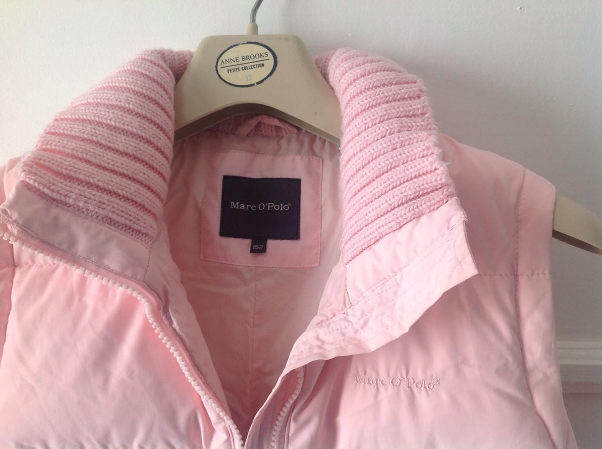 Marc O'Polo pink Gillet very good condition size(152) kids.