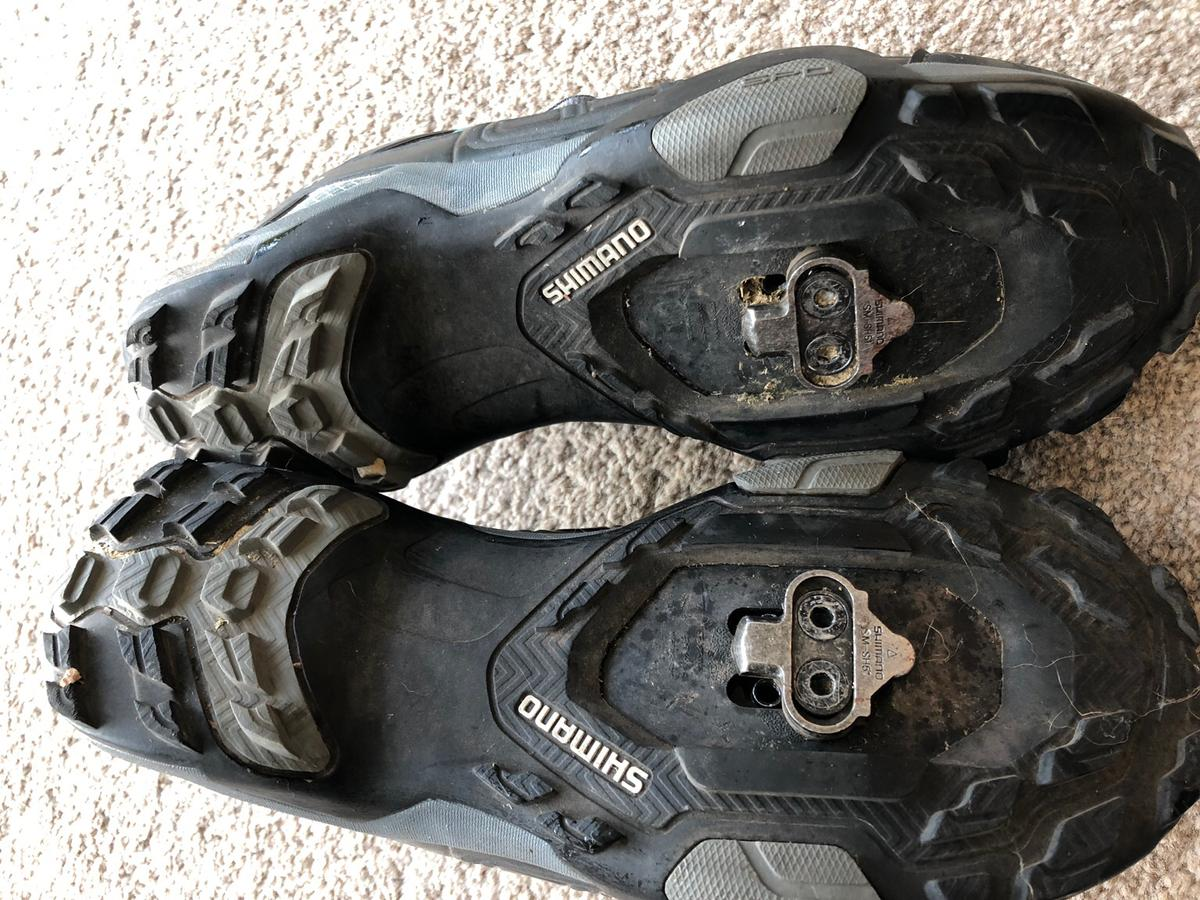 Still in very good condition, clip in shoes, very comfy. Can't ride anymore is reason for sale.