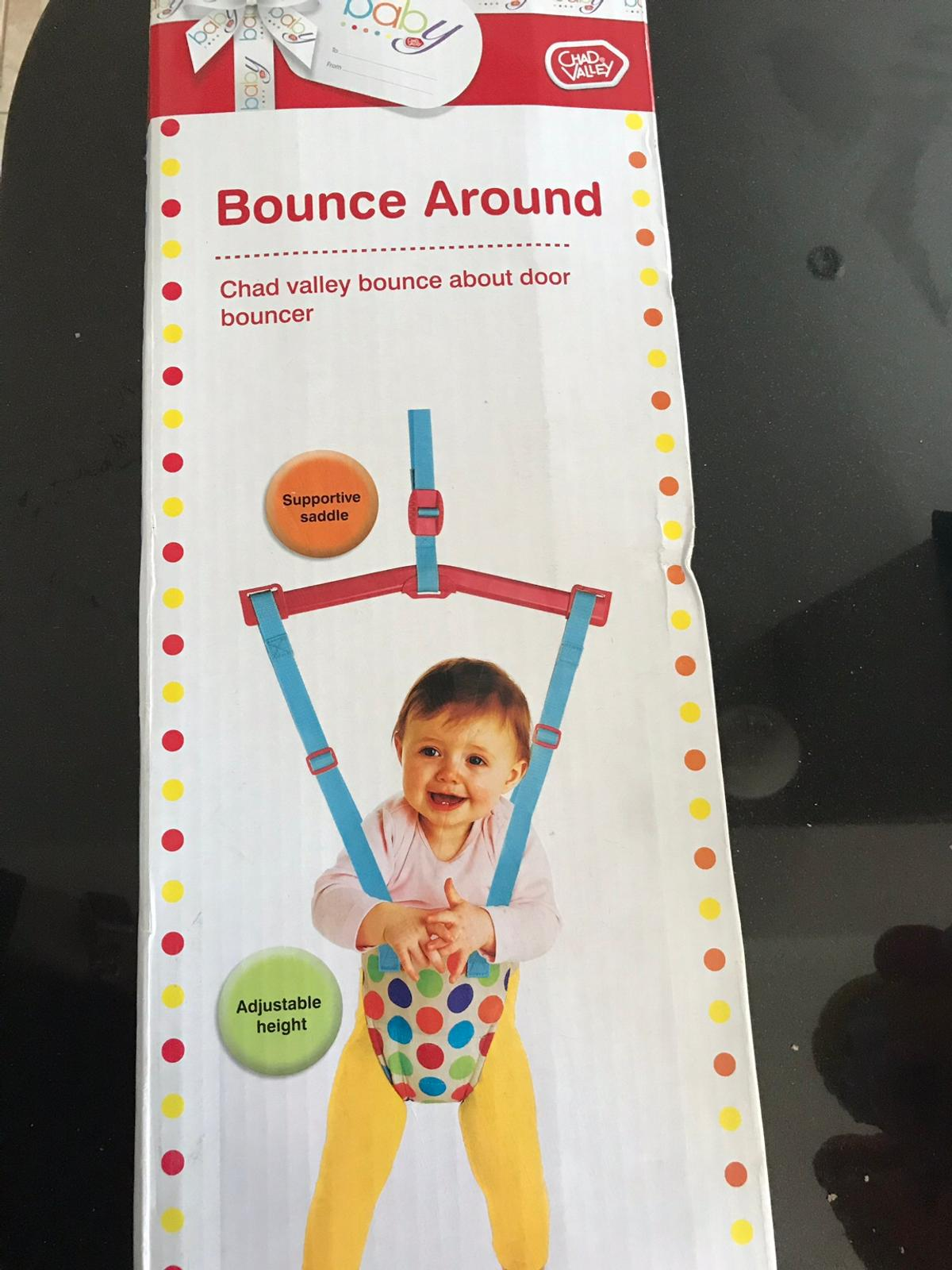 Chad Valley Bounce Around Door frame baby bouncer Excellent condition, only used a couple of times