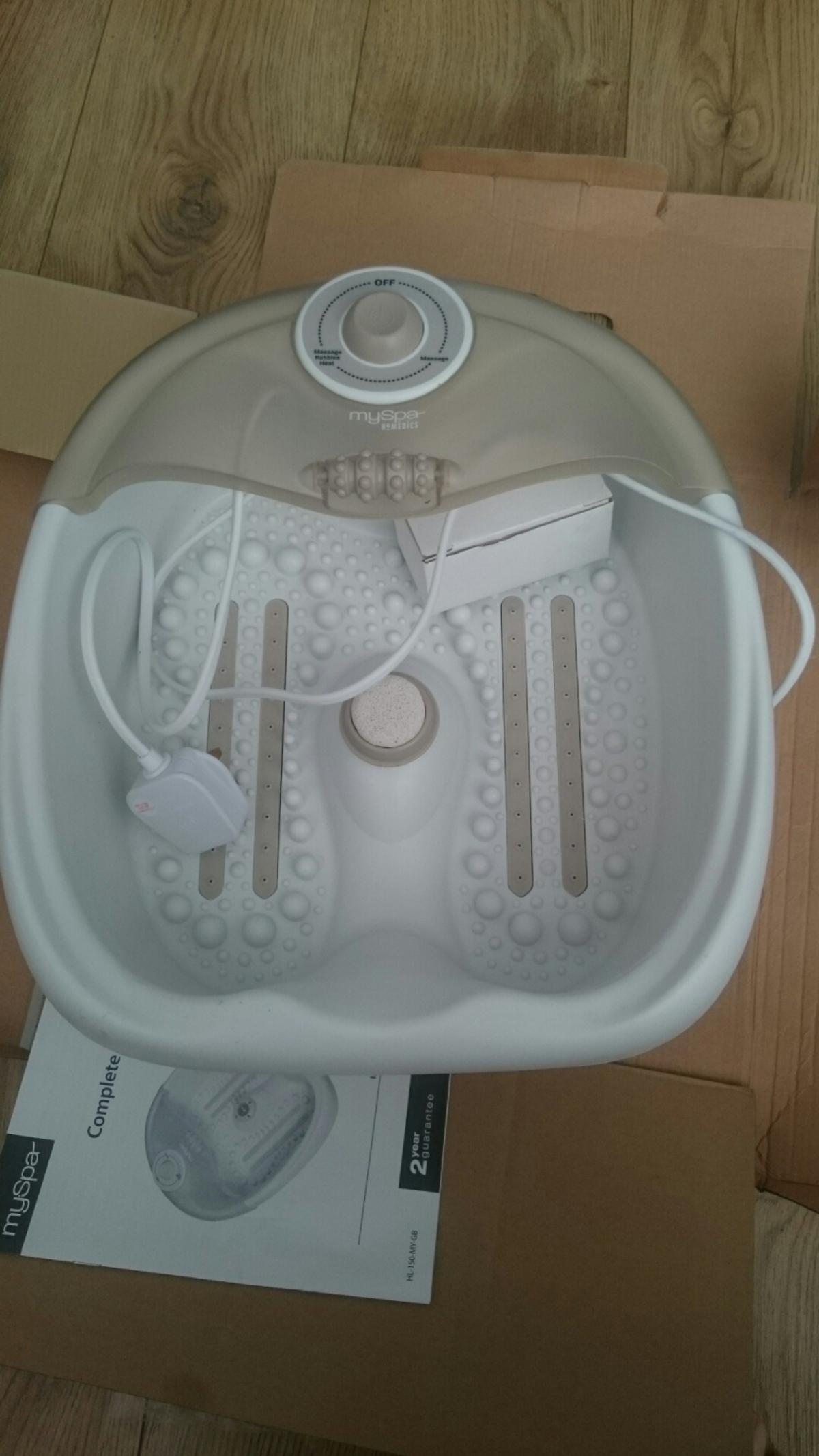 Myspa Homedics complete pedicure foot spa. unwanted gift. Used once. collection only