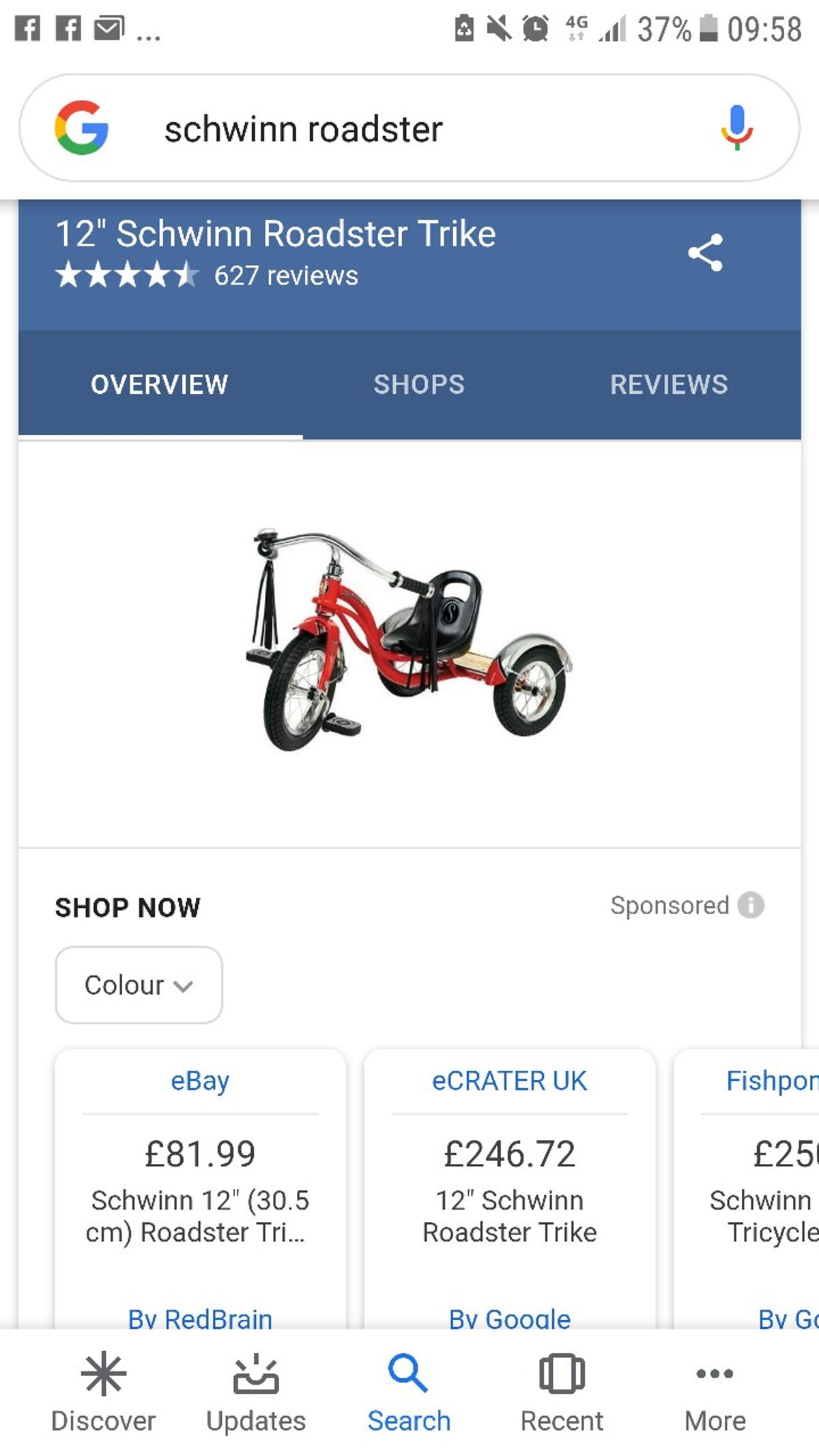 New condition been used few times son's birthday present works perfectly selling due to upgrade few seat possitions for comfy ride 3+ very beautifull stylish bike
