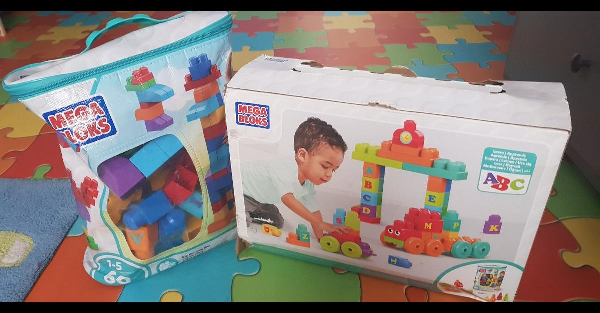 New Building Blocks two boxes. Excellent condition.