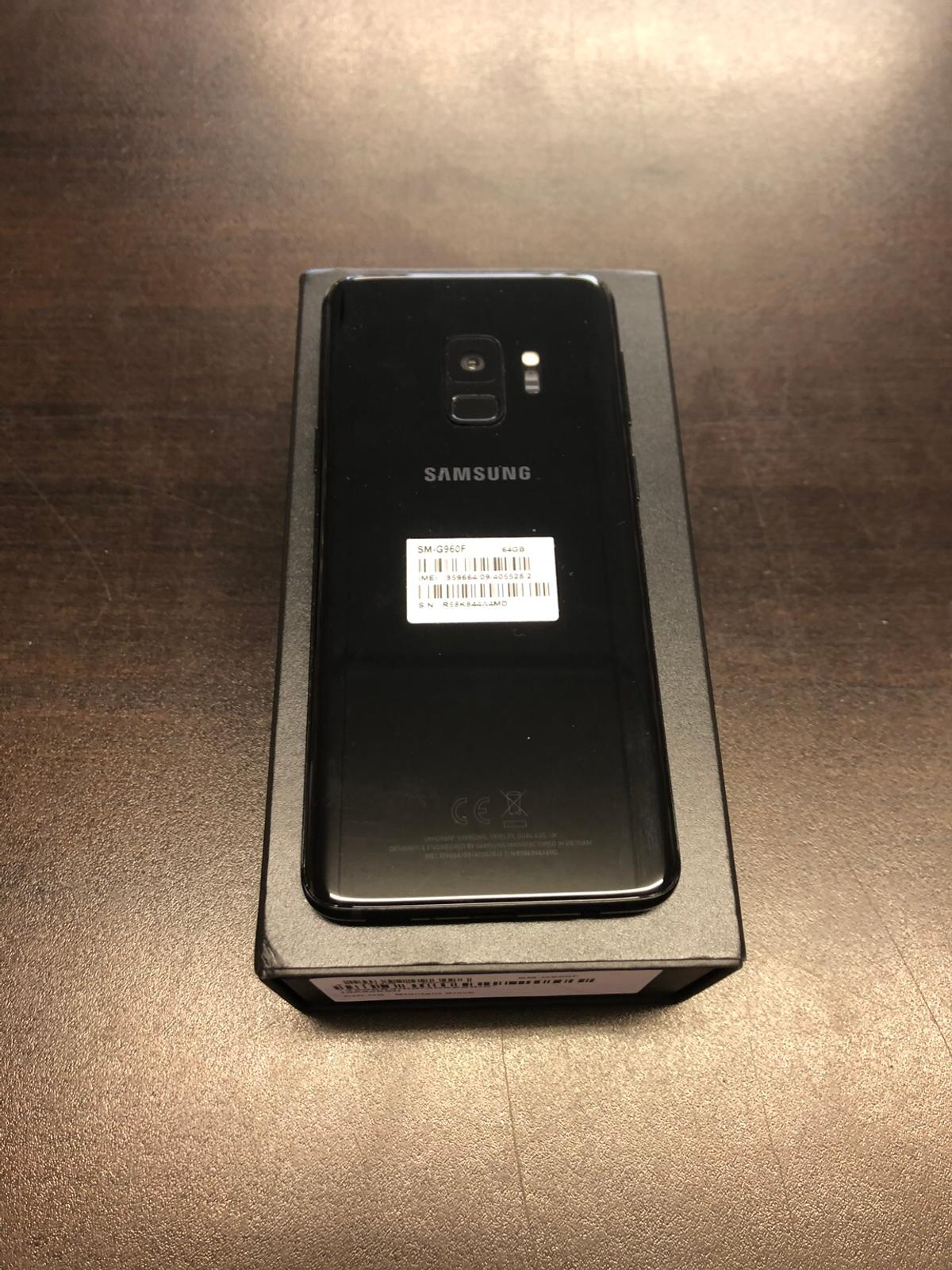 Samsung galaxy s9 64gb Unlocked very good condition with 12 months Samsung warranty  Buy with confidence from a phone shop all our phones come with warranty and accessories 01217071234 Open Monday to Saturday 11am till 5pm Out off hours collection can be arranged please call or text 07944 818181  Fone Squad 35 Warwick Road Solihull B92 7HS If using sat nav only use post code not the door number  All major debt and credit cards accepted Collection only