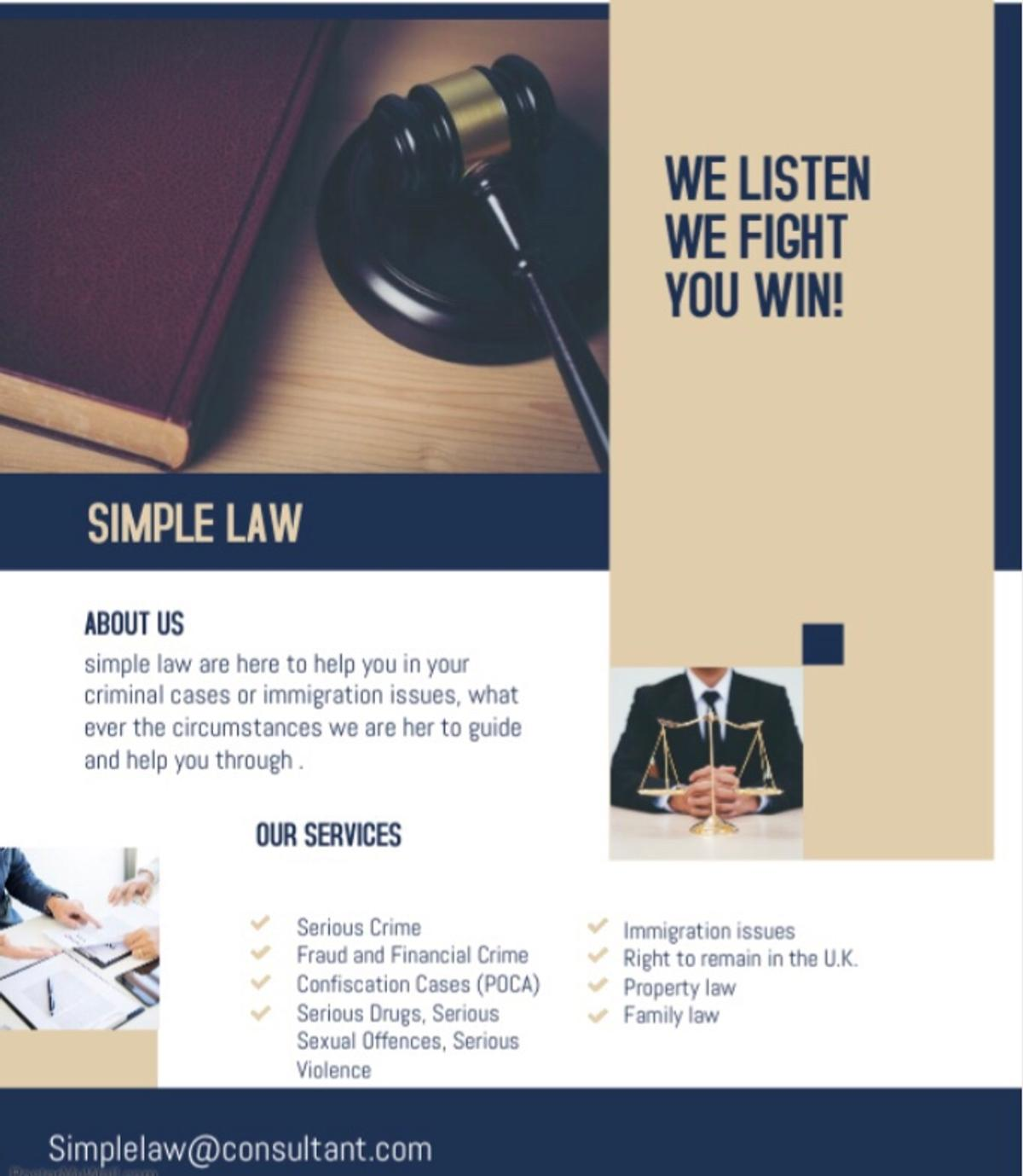 Criminal cases, confiscation orders, prison Law, we can help you with your criminal cases Email your query at , simplelaw@consultant.com Or private offer for response Thankyou