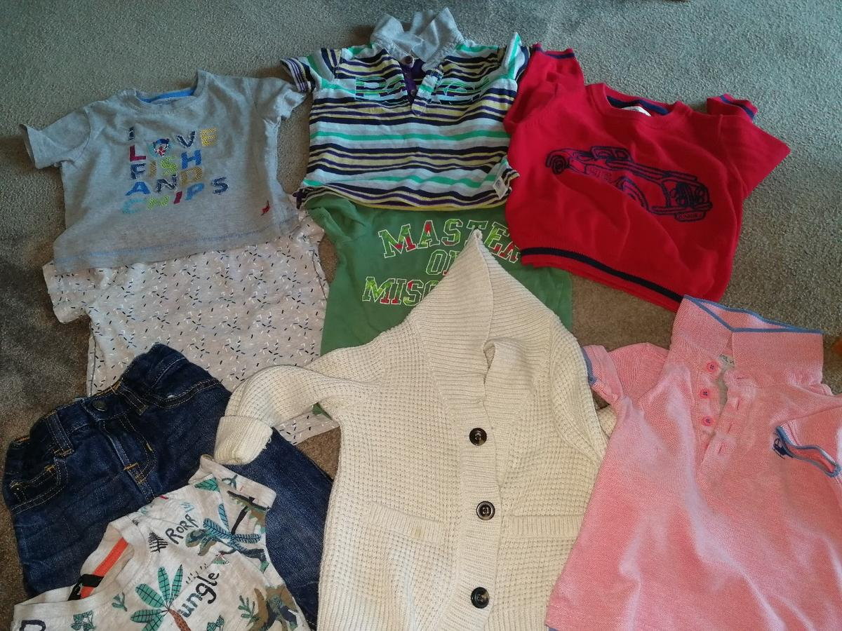 all good condition. lovely names gap, mother care,ted baker, monsoon and junior j