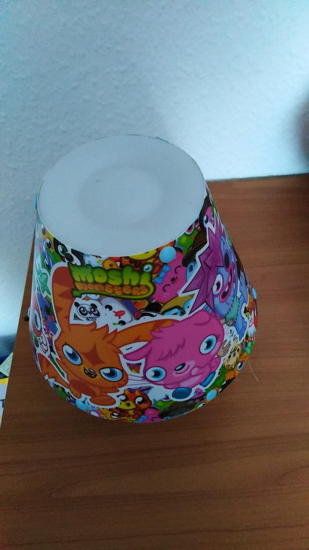 Moshi monster lamp  Ideal for any child's room  As seen in pic Sold as seen  £2  Collection from Sutton-in-Ashfield No posting