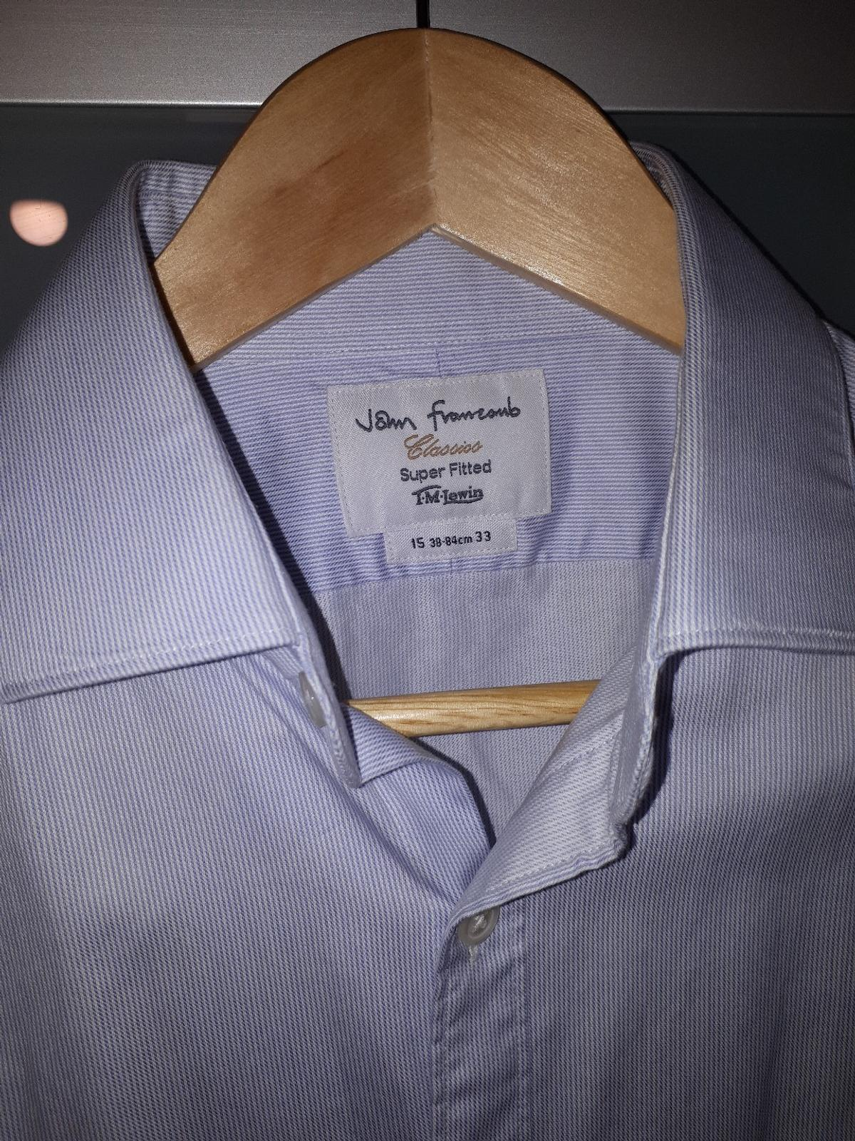 Barely worn 3 Men shirts. 2 of them can be worn with cufflings. great condition, one has a barely visible small stain.see pictures for sizes all 3 for £ 20. Collection Bexleyheath