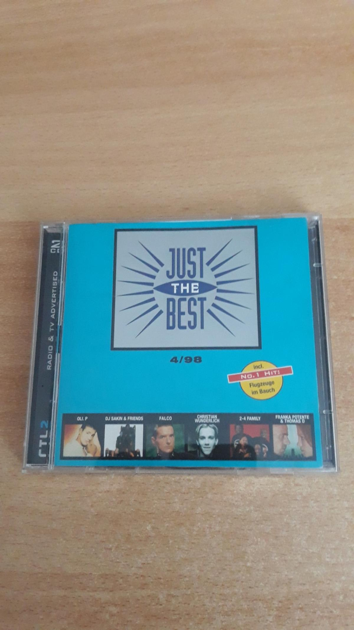 CD Just The Best 2CD 4/98 ( versende auch)