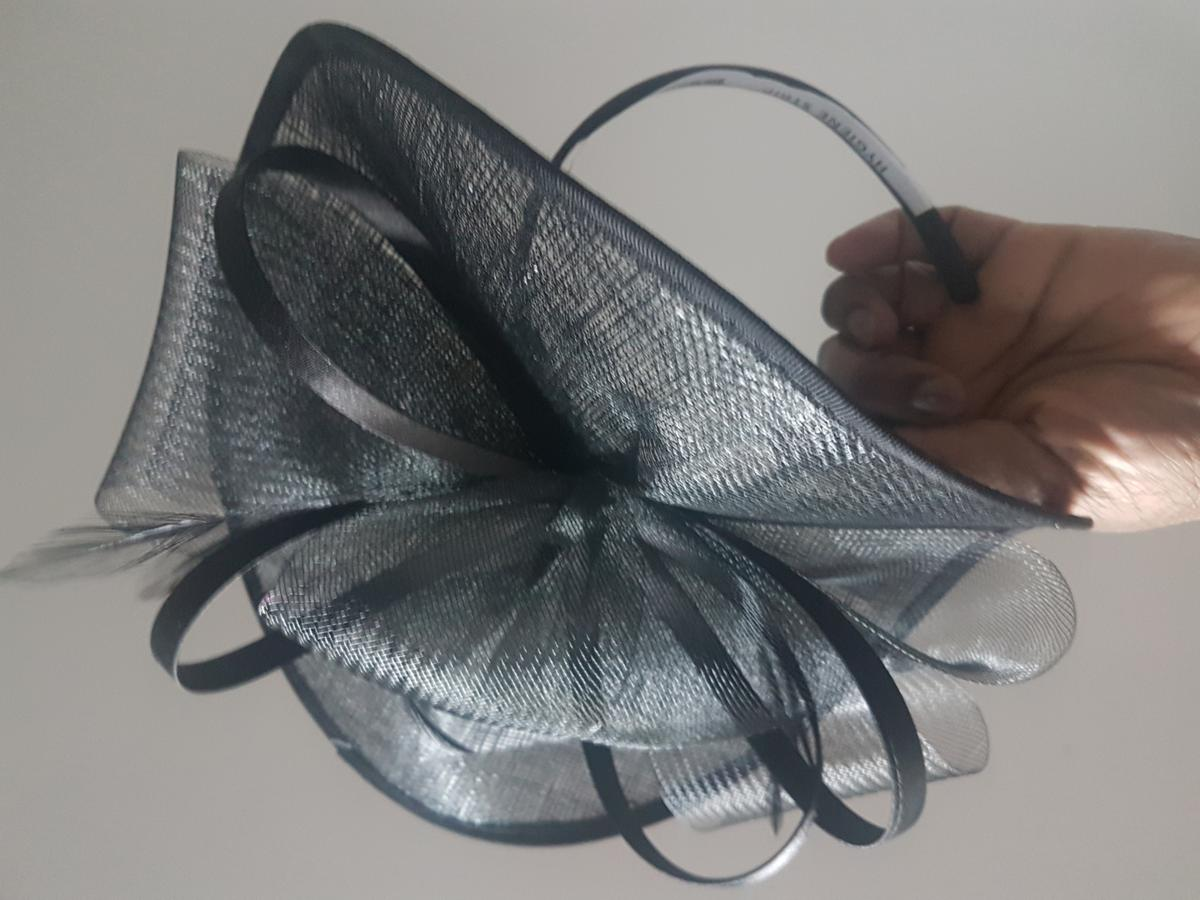 Brand- Deubt  Colour- Black fascintor  Meduim size perfect for weddings and the races.  Hat worth £35 selling for £18  Selling 3  Any questions just ask !!!