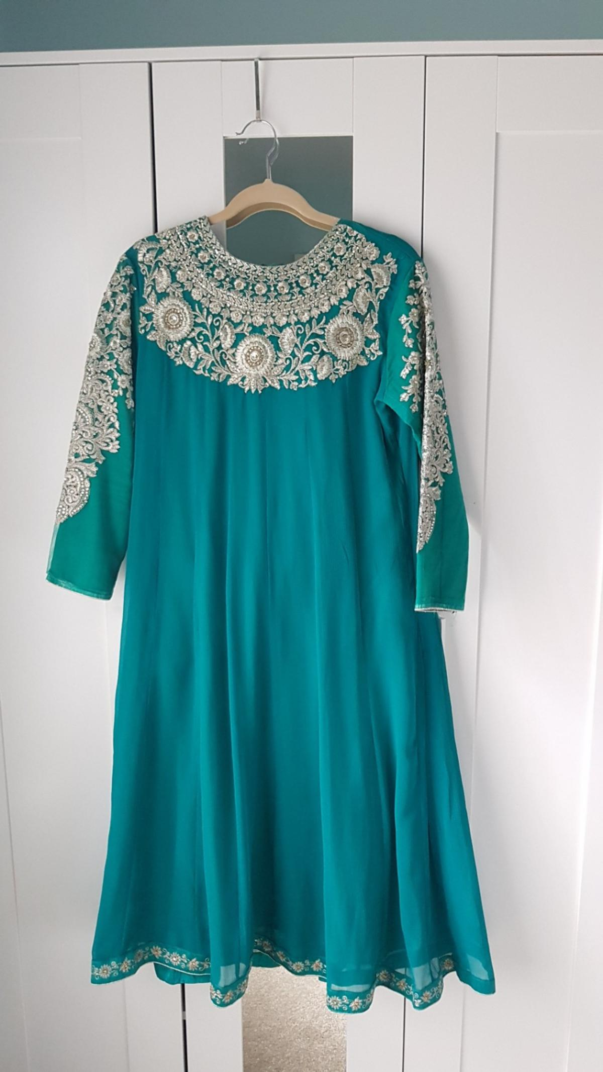 size 14 with trousers and dupatta