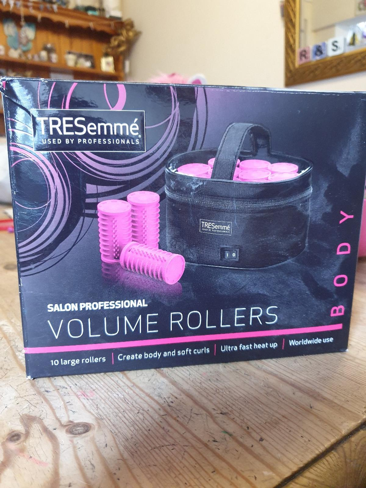 new never used. Tresemmè heated rollers