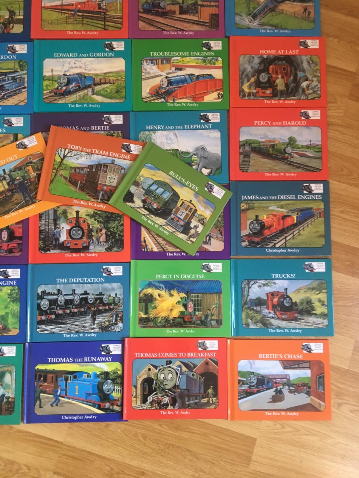 Lovely set of books immaculate condition.. never used.. set comes from Grolier.. Would estimate total cost of set be about £150 at least.. Lovely books for any Thomas fan..