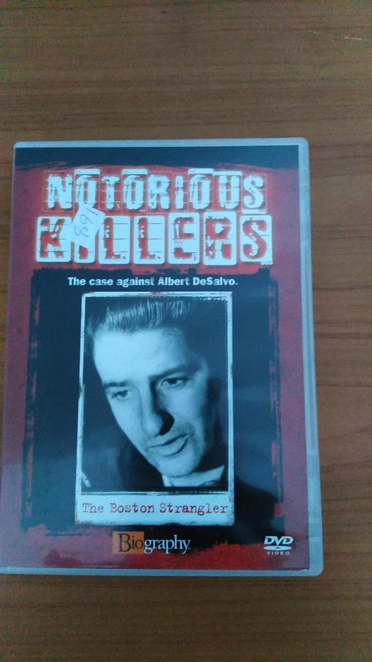 Notorious killers the Boston strangler dvd  As seen in pic Sold as seen  £1  Collection from Sutton-in-Ashfield No posting