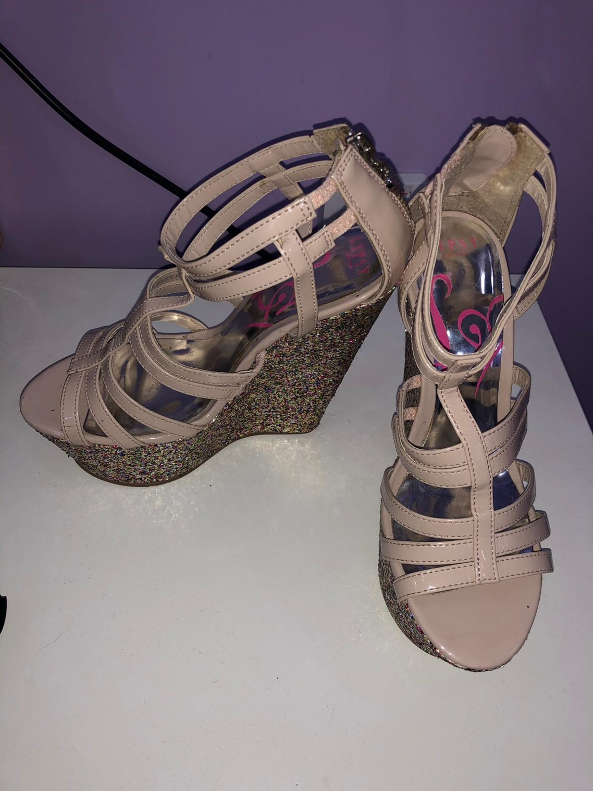 High heels/wedges. Lipsy, worn about 3 times. Very good condition.