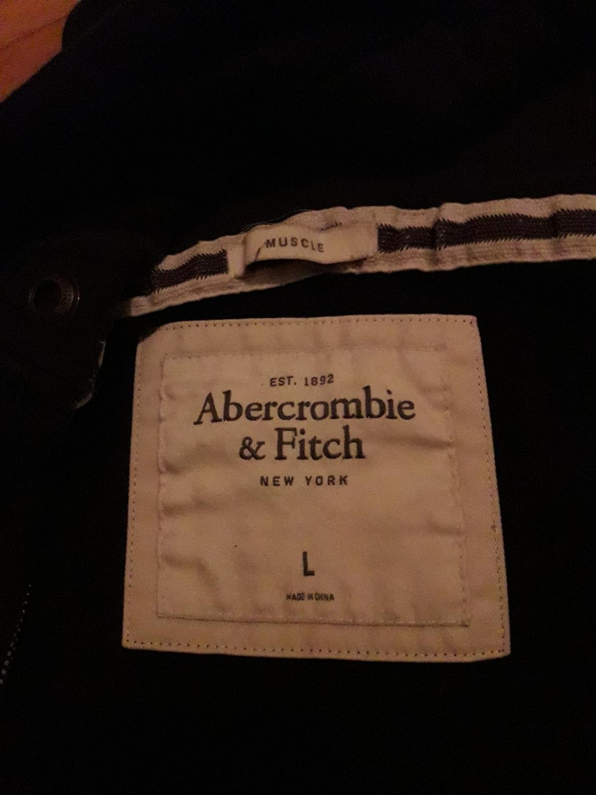 Pullover Hoodie Gr. L dunkelblau #hollister #abercrombie #fitch #blogger #casual