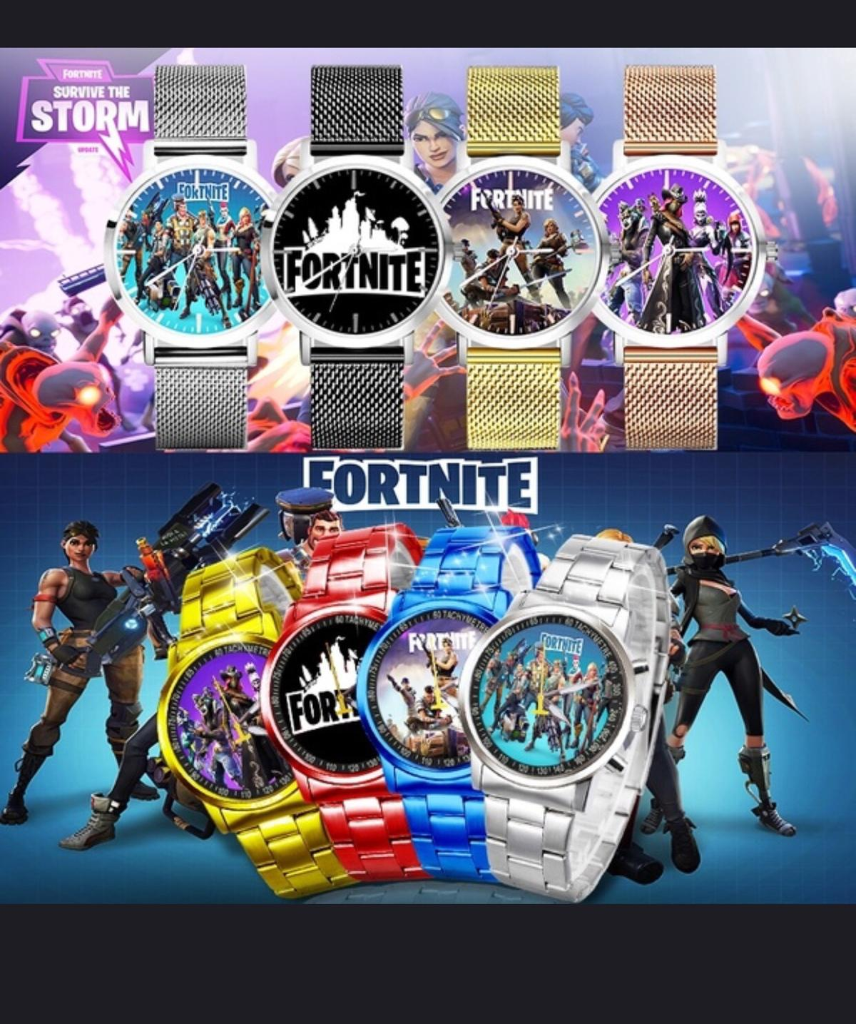 Fortnite watches different sizes!! Through PayPal for delivery only!!