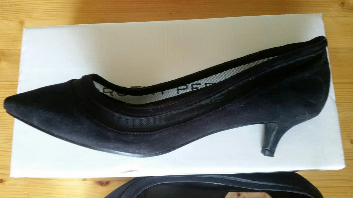 outlet boutique release date high fashion black ladies shoes in ST5-Lyme for £10.00 for sale | Shpock