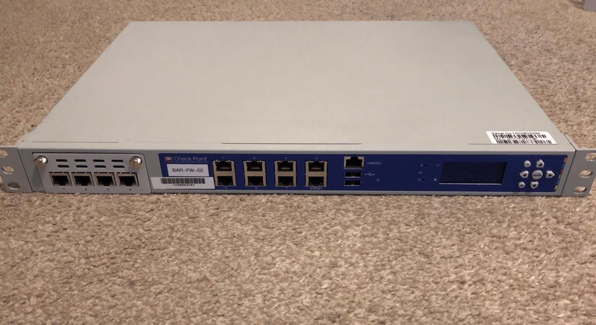 Check Point 4600 T-160 Firewall Appliance in NG8 Broxtowe