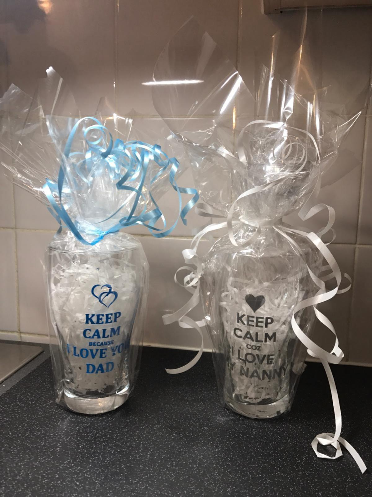 we also do personalised item for Brides to be ,baby showers ,births . prices are different varies starting from £5 and all gift wrap .
