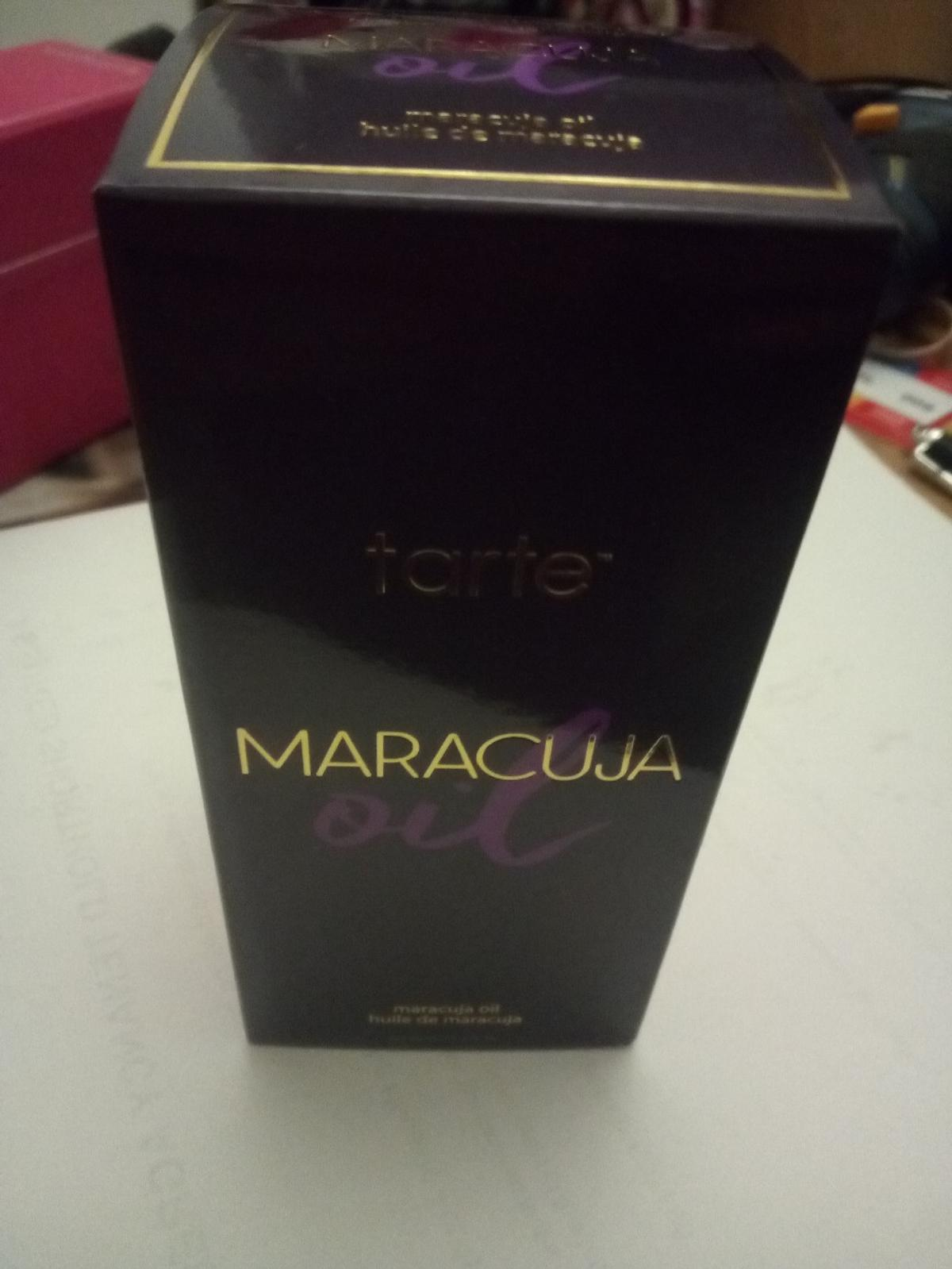 Maracuja oil ,50ml from Tarte,never used still boxed use by is 12 months from opening, can post for extra charge